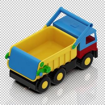 Caminhão garoto isométrico