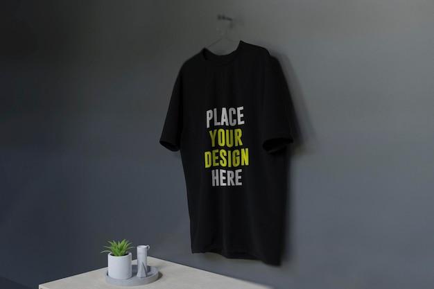 Camisa-maquete com interior