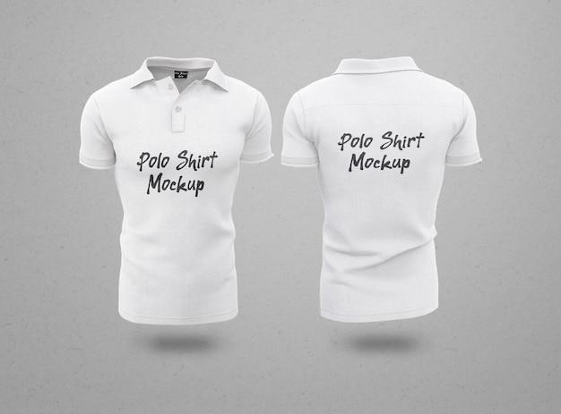 Camisa polo masculina isolada