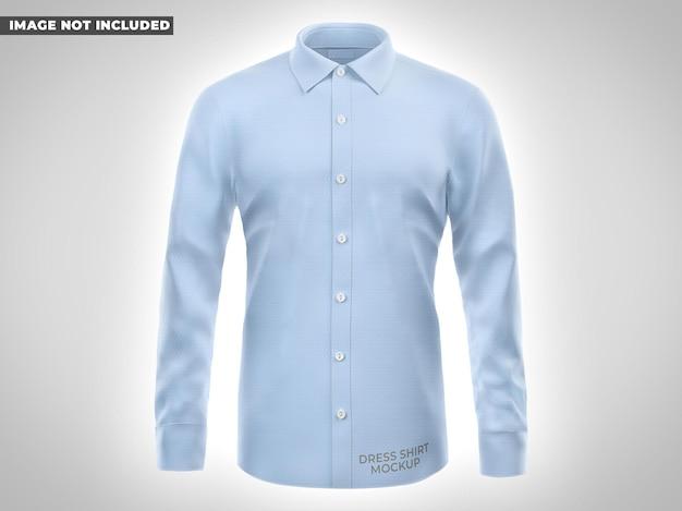 Camisa social mockup front vie