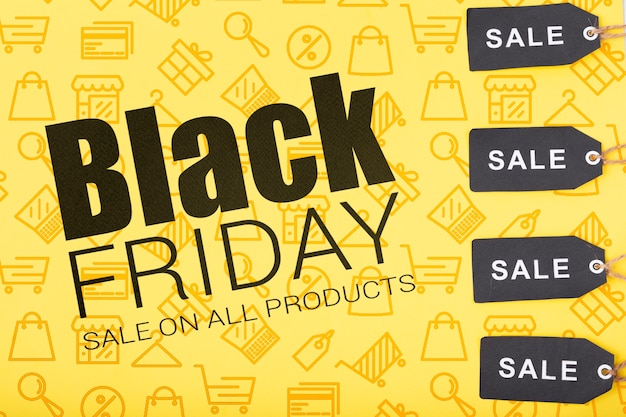 Campanha com ofertas diferentes na sexta-feira negra