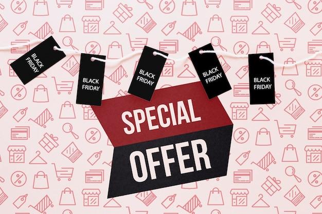 Campanha de ofertas especiais na sexta-feira negra