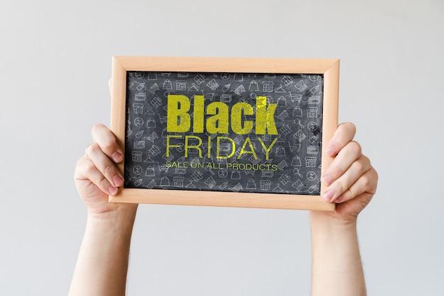 Campanha informativa para sexta-feira negra