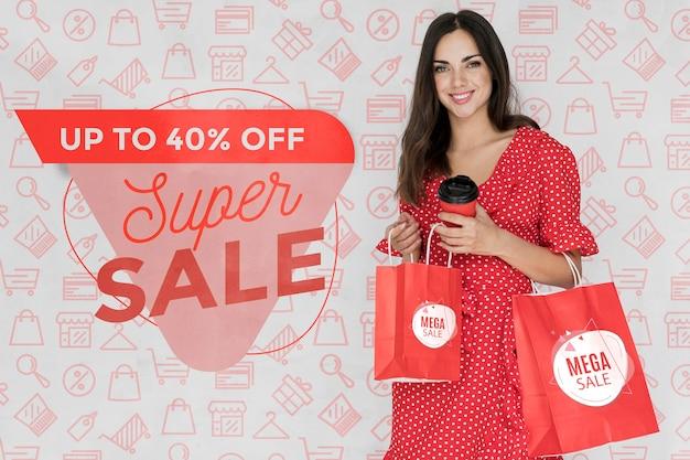 Campanha promocional com ofertas especiais disponíveis