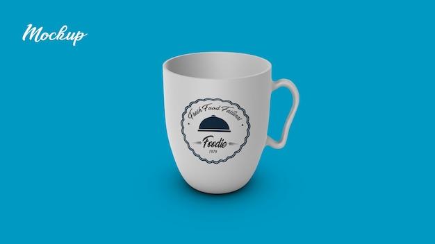 Caneca de xícara de chá mock up