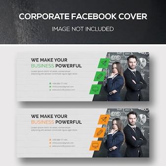 Capa corporativa do facebook