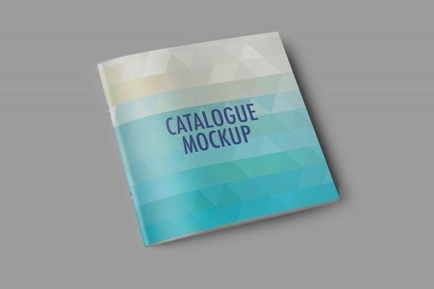 Capa de catálogo mockup