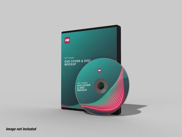 Capa de dvd e mockup de disco