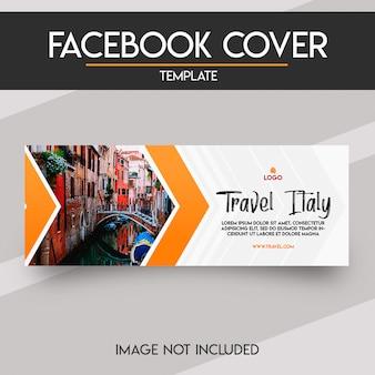 Capa de facebook de mídia social