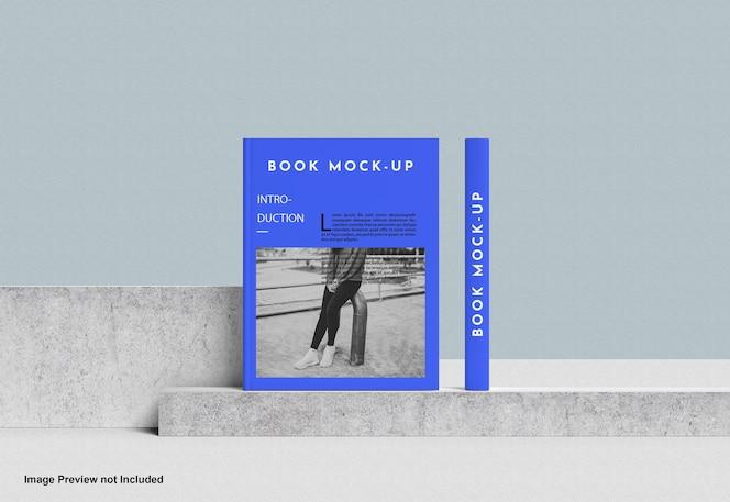 Capa de livro maquete