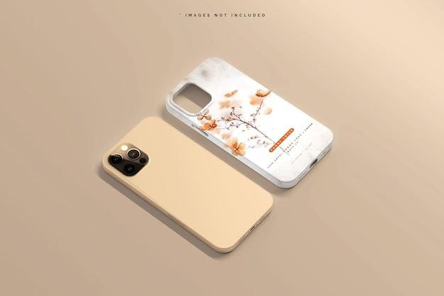 Capa de smartphone ou maquete de estojo