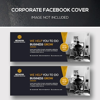 Capa do facebook corporativo
