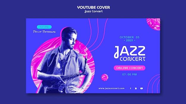 Capa do youtube de concerto de jazz
