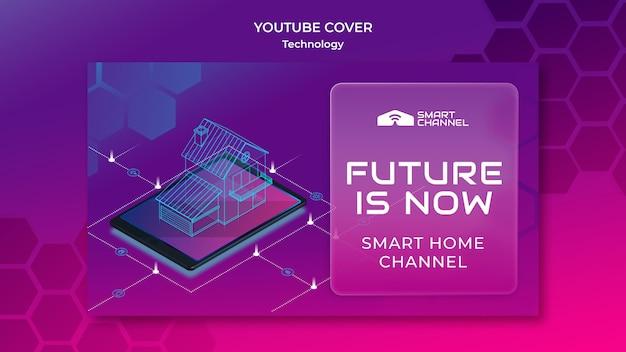 Capa do youtube para casa inteligente
