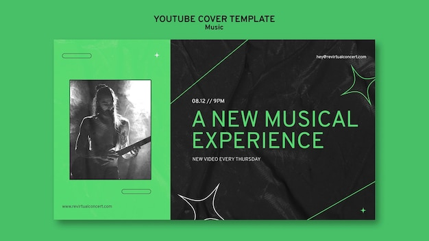 Capa do youtube para concerto virtual