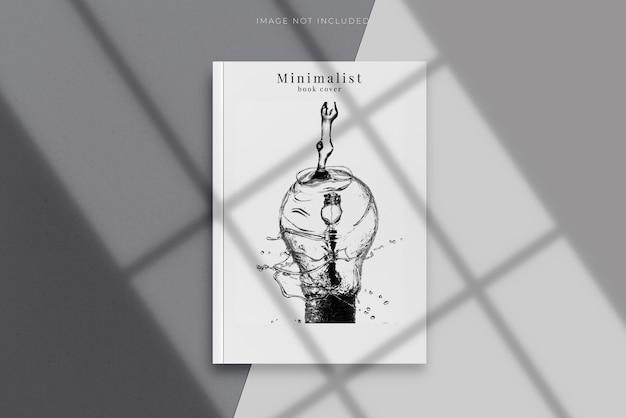 Capa em branco da revista, livro, brochura, folheto
