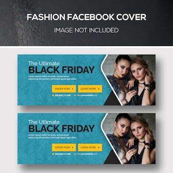 Capa para facebook de moda