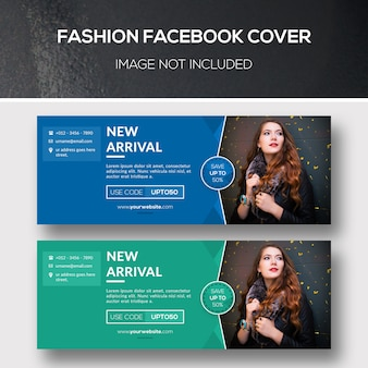 Capas de facebook da moda