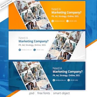 Capas de facebook para marketing empresarial