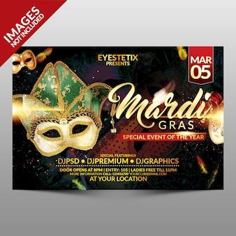 Carnaval flyer