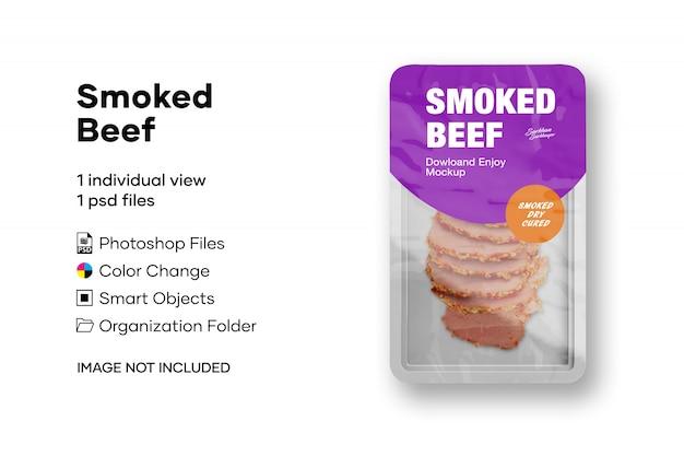 Carne defumada