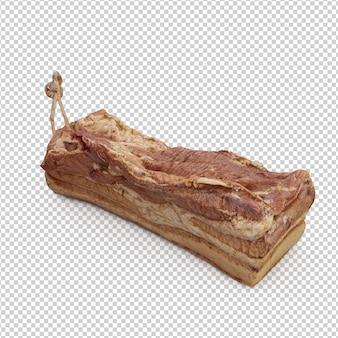 Carne isométrica