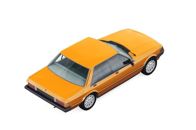 Carro sedan vintage 1982