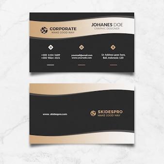 Cartão corporativo de ouro