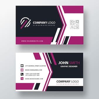 Cartão corporativo roxo