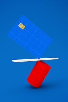 Cartão de crédito balanceado