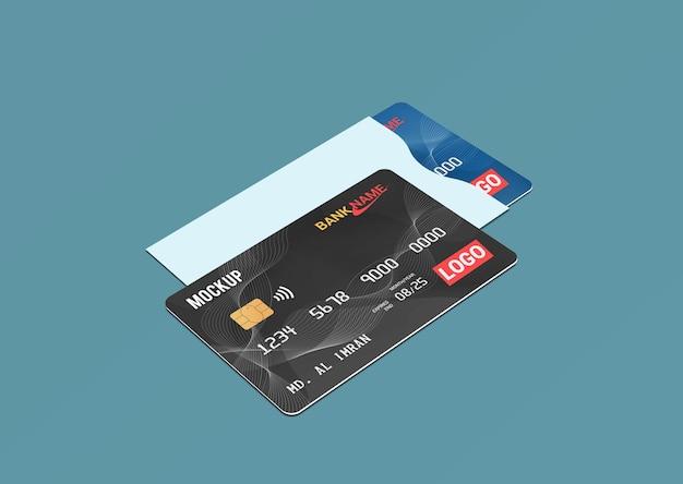 Cartão de débito cartão inteligente cartão plástico em modelo de protetor de papel