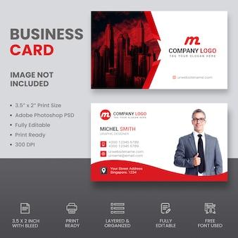 Cartão de negócios imobiliários
