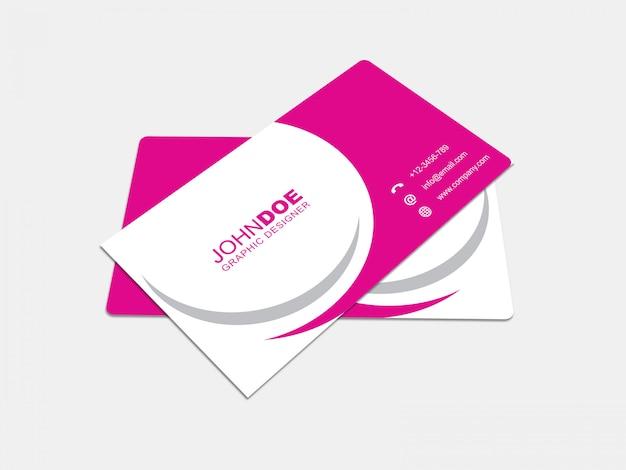 Cartão de negócios mockup 04