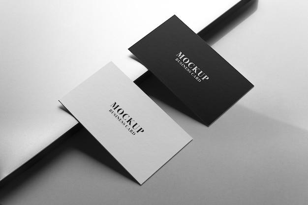 Cartão de visita maquete frente e verso.