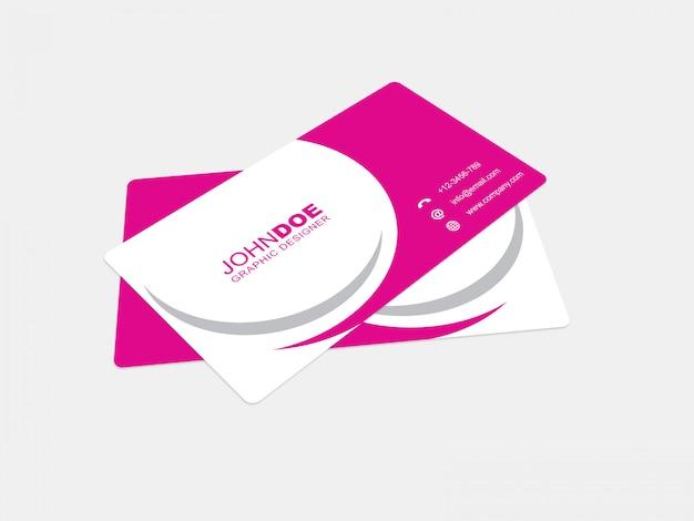 Cartão de visita mockup 03