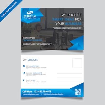 Cartão postal de negócios