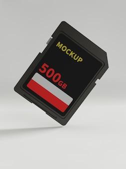 Cartão sd e modelos de adaptador
