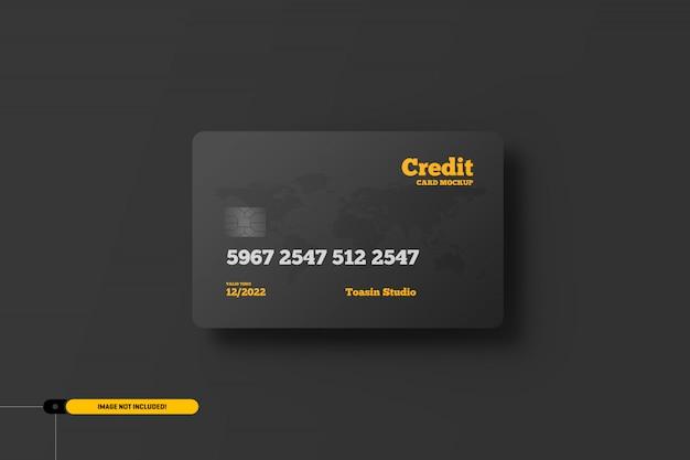 Cartões de crédito. maquete de cartões-presente