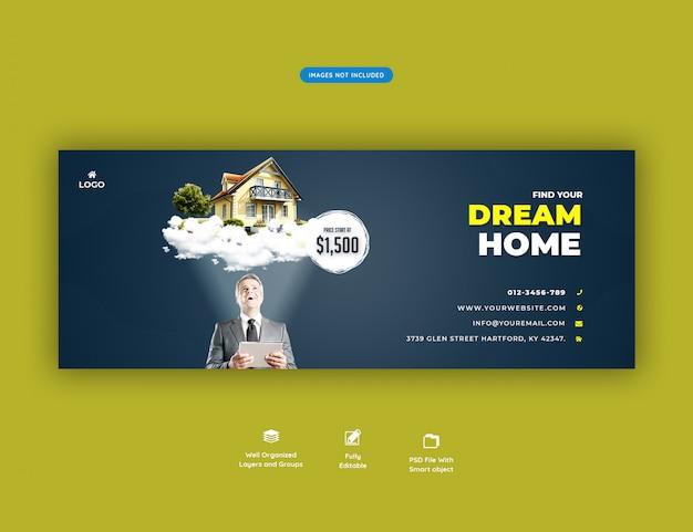 Casa dos sonhos para banner de venda