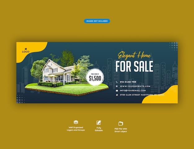 Casa elegante para banner de venda