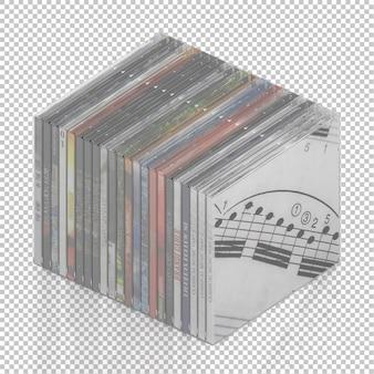 Cd dvd isométrico