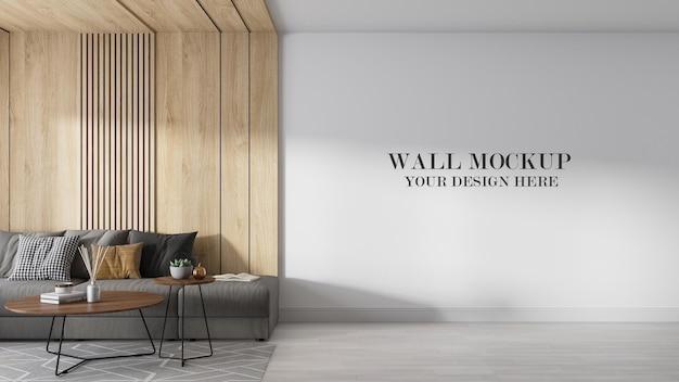 Cena de maquete 3d render para texturas de papel de parede