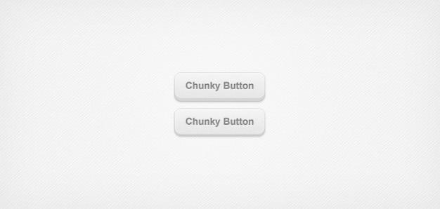 Chunky 3d botões web (psd)