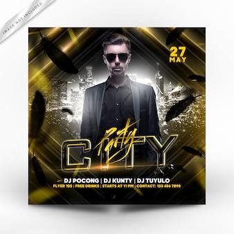 City party flyer premium