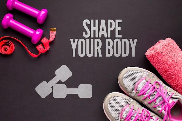 Classe e equipamento de fitness ativo