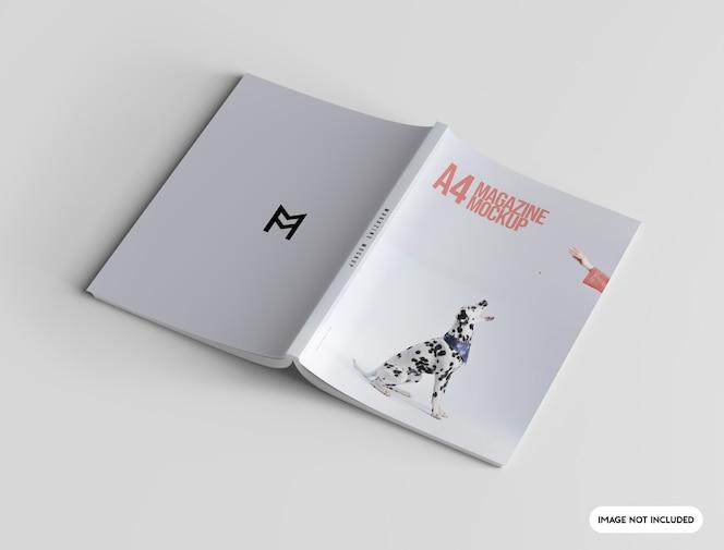 Close na maquete da capa da revista