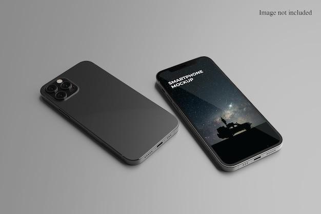 Close-up do smartphone maquete
