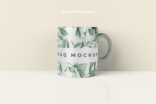Close-up em mug mockup