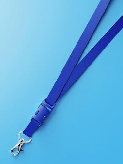 Close-up na maquete de corda realista isolada