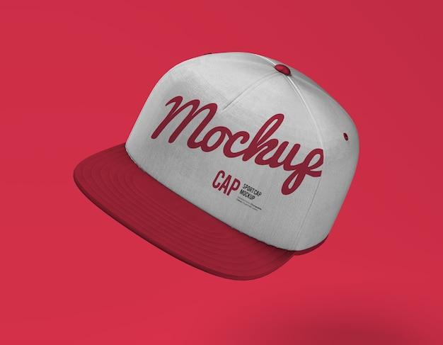Close-up no sport cap mockup
